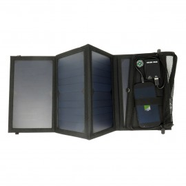 leSolarExplorer PRO: foldable solar charger 20W
