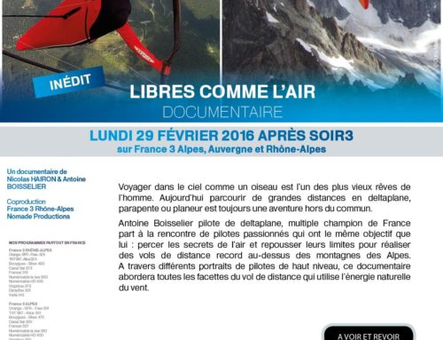 Libres comme l'air, last chance to watch the full movie on TV