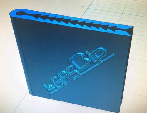 3D print your webbing mounting clip for leGPSBip, leBipBip+
