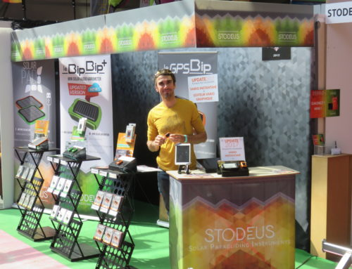 Live from Coupe Icare : Stodeus' booth is ready !