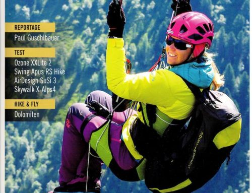 leGPSBip+ dans Thermik Mag spécial hike&fly